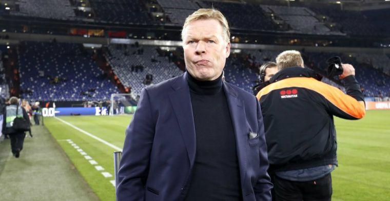 Koeman ziet 'angstig' Ajax: 'Liepen in tweede helft alleen maar naar achteren'