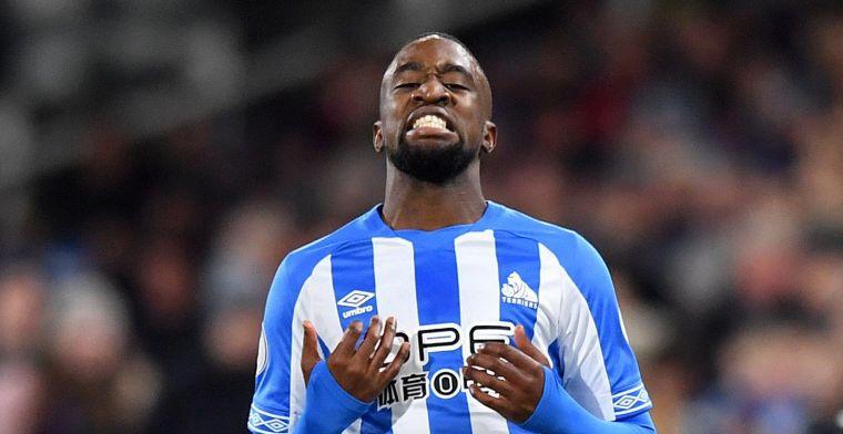 Mbenza blijft ondanks degradatie bij Huddersfield: Het zal me vertrouwen geven