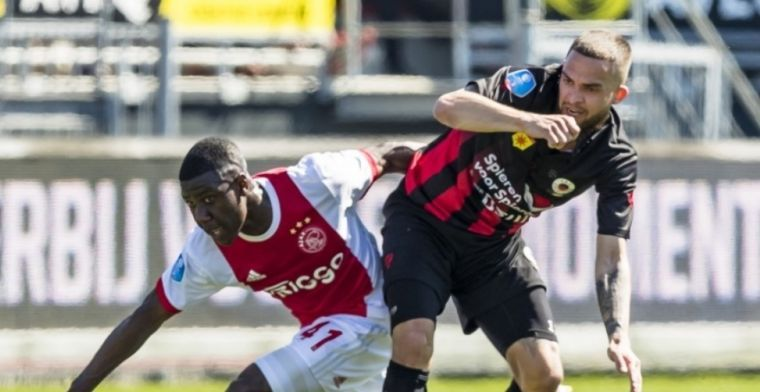 Matusiwa krijgt slecht nieuws van Ajax: 'Dan denk je wel even: waarom?'