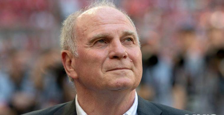 Hoeness snapt niets van afgekeurde Bayern-goal: 'De grap van het jaar'