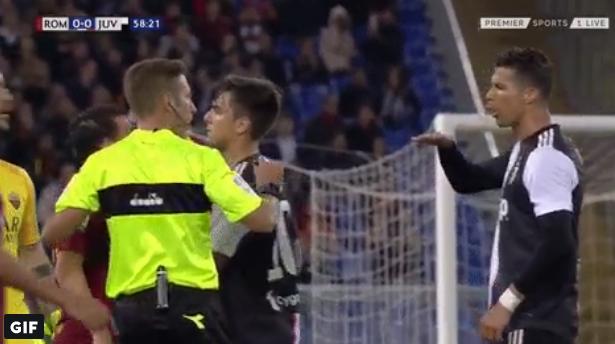 GOAL! Florenzi wordt vierkant uitgelachen door Ronaldo en reageert met stiftgoal