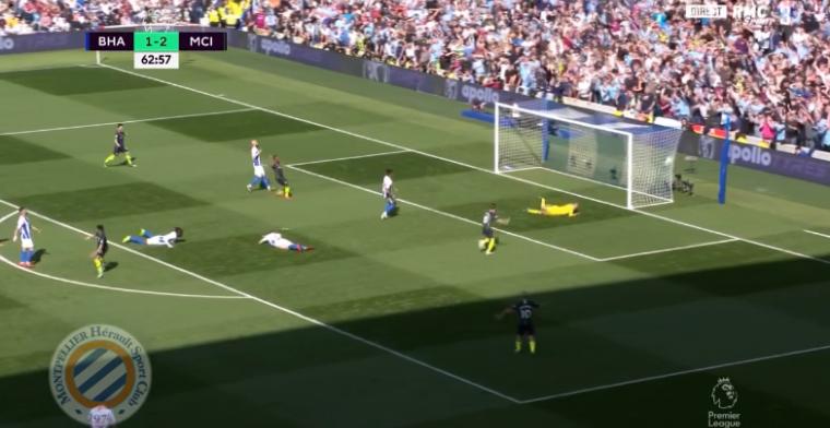Manchester City heeft landstitel bijna binnen na weergaloos doelpunt Mahrez