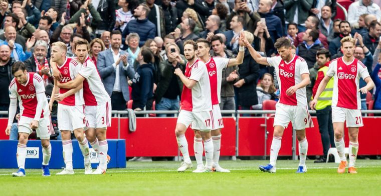Ajax herstelt zich van Champions League-debacle en is officieus kampioen