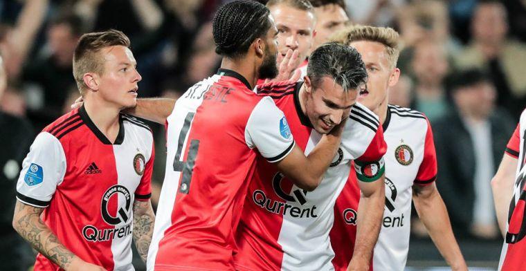 Van der Vaart: Twee haantjes met grote ego's. Hij bij Feyenoord, ik bij Ajax