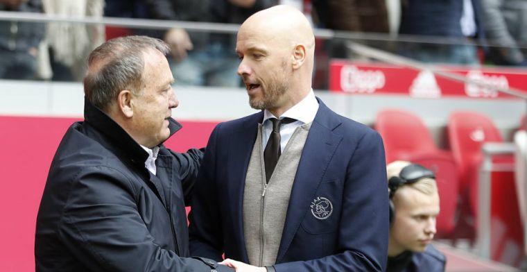 Ten Hag apetrots op 'kampioen' Ajax: 'Ziyech was de afgelopen dagen nog ziek'