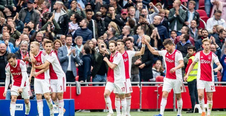 LIVE: Ajax officieus kampioen na ruime zege op Utrecht en nederlaag van PSV