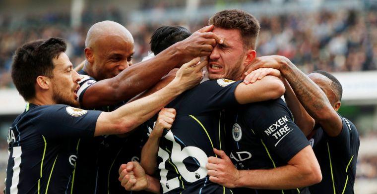 Manchester City sleept landstitel binnen op zinderende slotdag in Engeland