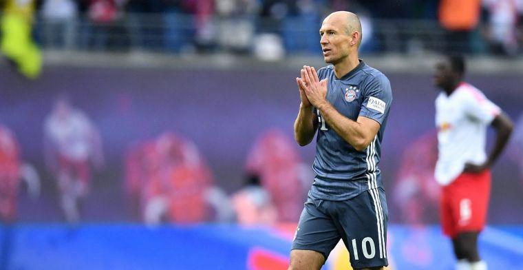 Robben wil 'nog vier à vijf jaar' voetballen: Opties binnen én buiten Europa