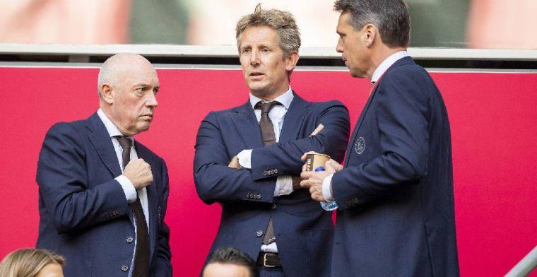 Directieleden van Ajax hebben vast ritueel: Met name Edwin houdt er niet van