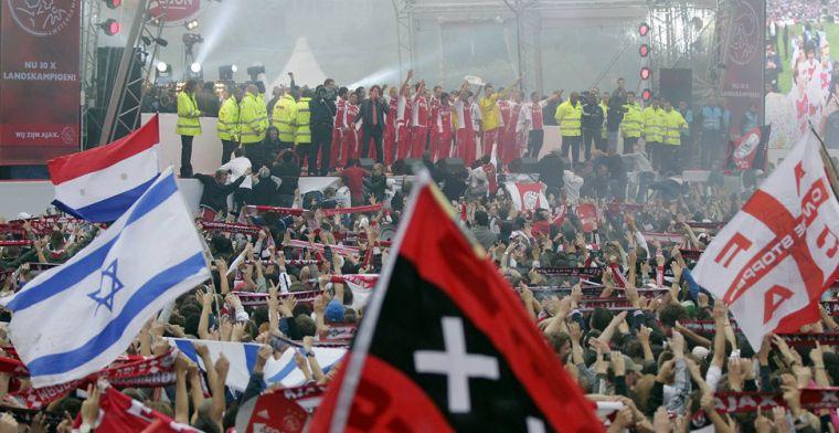 Huldiging Ajax bij landskampioenschap donderdagmiddag op Museumplein
