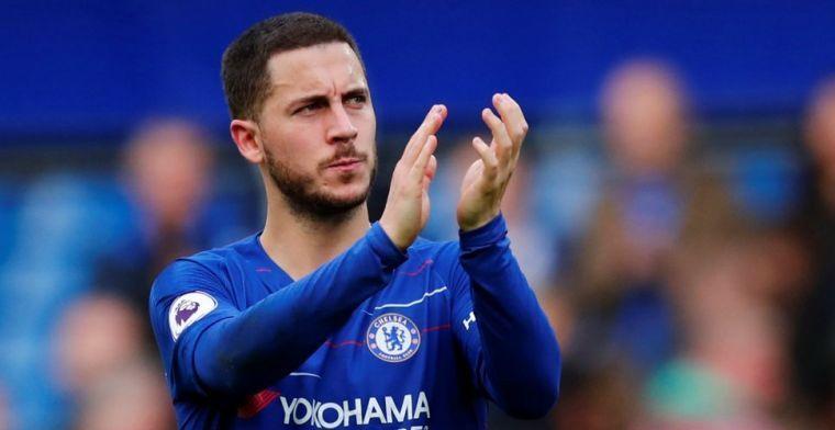 Hazard stuurt aan op vertrek bij Chelsea: Niet op andere gedachten te brengen