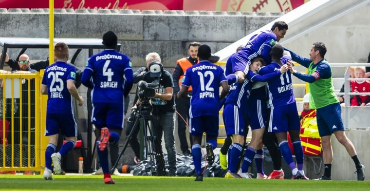 Scherpe uithaal richting Anderlecht: 'Wandelclub voor minderbedeelde bejaarden'