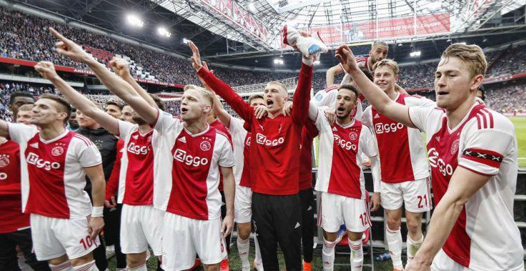 Kampioen Ajax op rapport: De Jong, De Ligt en aanvallers een 9, één dissonant