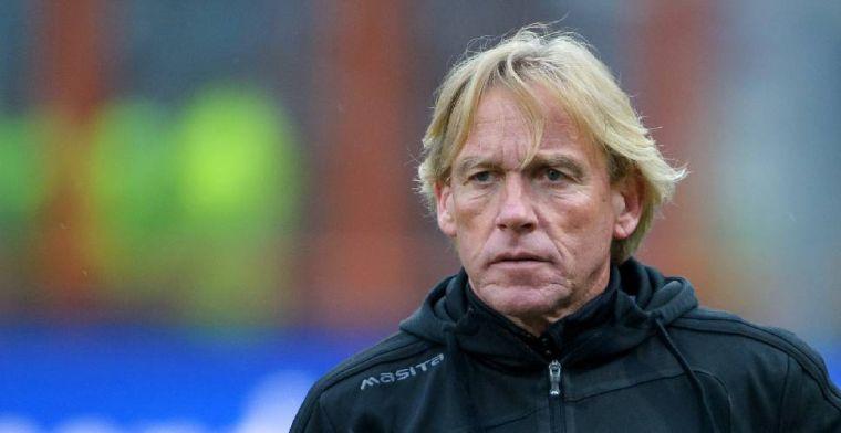 'Roda JC schuift Van der Luer opzij en gaat verder met andere hoofdtrainer'