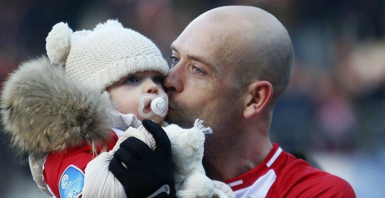 Dreun voor Pedersen: FC Emmen-aanvaller moet per direct stoppen met voetballen