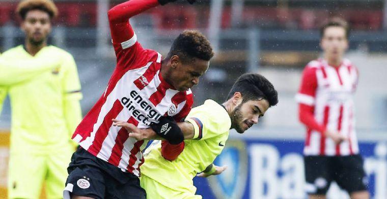 PSV houdt talentvolle middenvelder (18) binnenboord: nieuw contract tot 2021