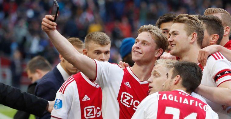 'Fris ogende' De Jong verovert Johan Cruijff Prijs: 'Dat is ongelooflijk knap'