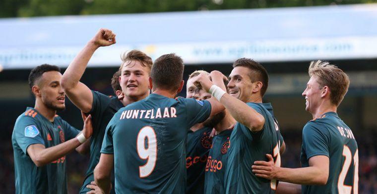 LIVE: Ajax kampioen, Tadic gelijk met De Jong, Groningen play-offs (gesloten)