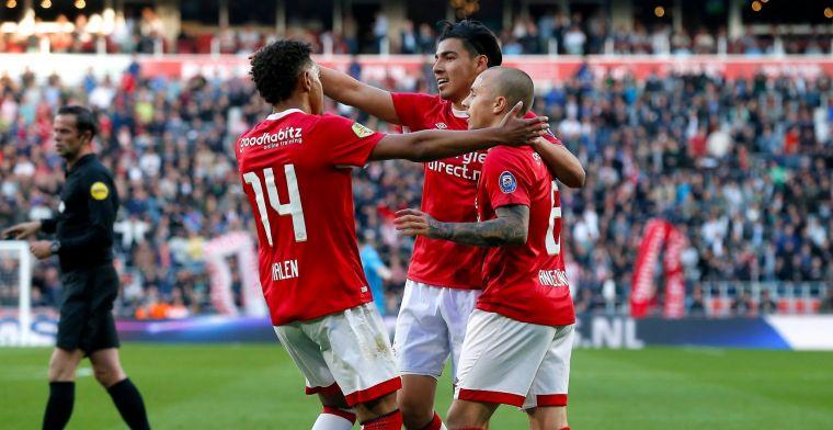 PSV eindigt seizoen met zege na gezapige wedstrijd tegen Heracles
