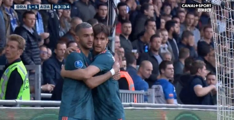 Doelpuntenregen De Graafschap - Ajax: Schöne, El Jebli en Tagliafico scoren