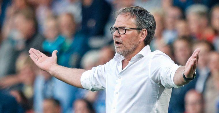 Verbeek wuift De Jong-dilemma weg: Hij heeft toch volgend jaar pas een contract?