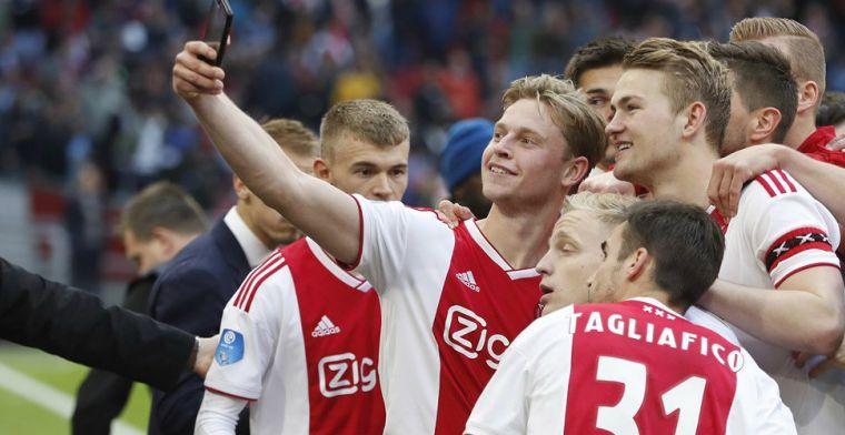 Discussie over beste Eredivisie-speler: 'De Jong heeft wel eens zesje gescoord'