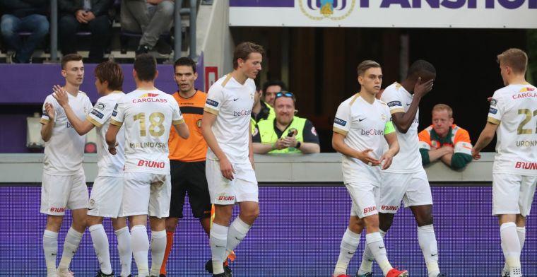 RC Genk verovert landstitel in België na bepalende goals van Ajax-aankoop Marin