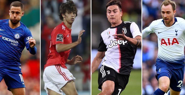 Hete transferzomer: 11 spelers die voor 100 miljoen euro of meer kunnen verkassen