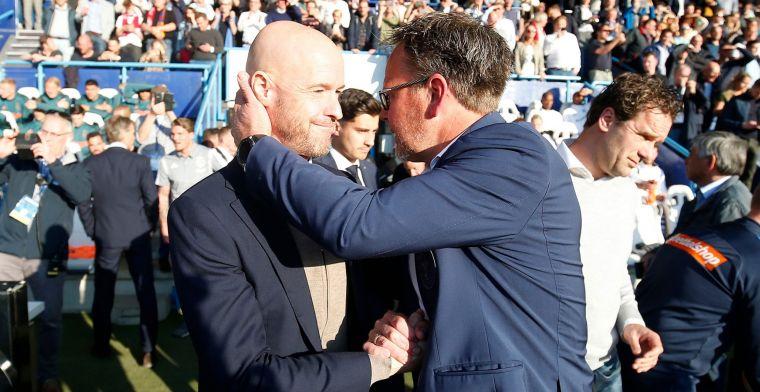 'Het zijn vaak oud-spelers van Feyenoord die vinden dat Ten Hag moet cashen'