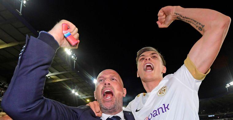 Genk heeft genoeg aan gelijkspel tegen Anderlecht om zich tot kampioen te kronen