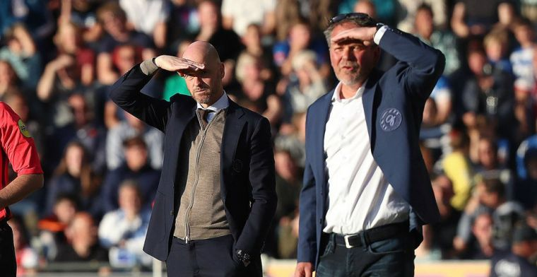 Ajax ontsnapt aan 'dikke rode kaart': Ik zei tegen de vierde man: niks geven