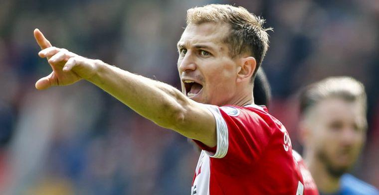 Schwaab over kampioen worden tegen 'de grote tegenstander' Ajax: 'Mooiste moment'
