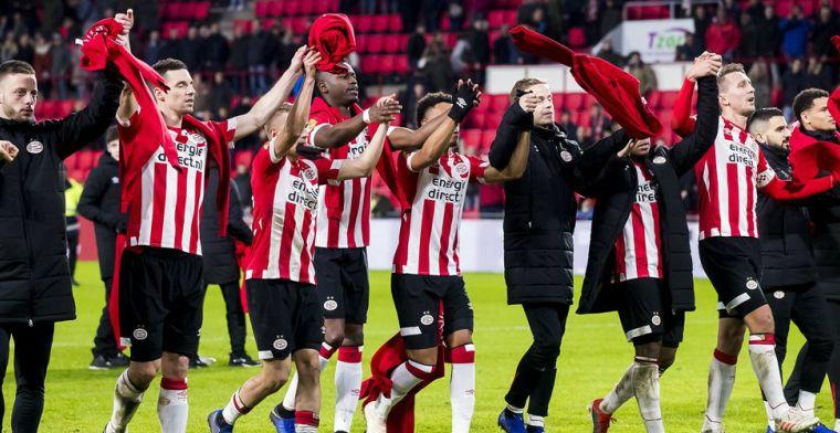 Update: Nog vijf mogelijke tegenstanders voor PSV: treffen met Elia lonkt
