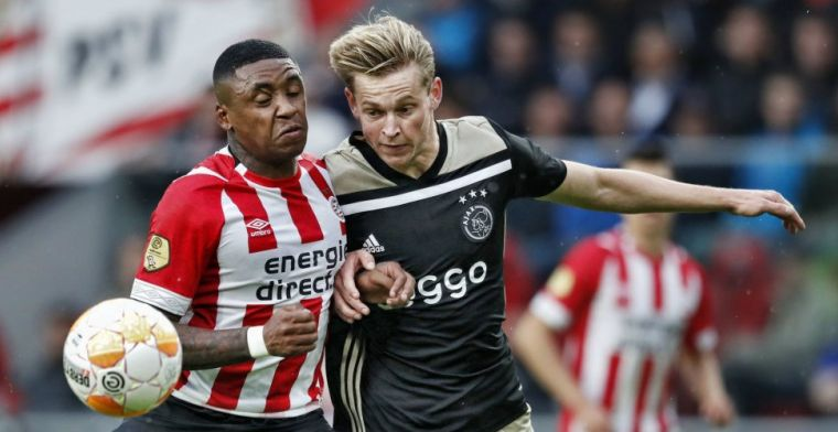 PSV geeft 'het signaal van een Calimero': 'Wat een heisa om flirt met Bergwijn'