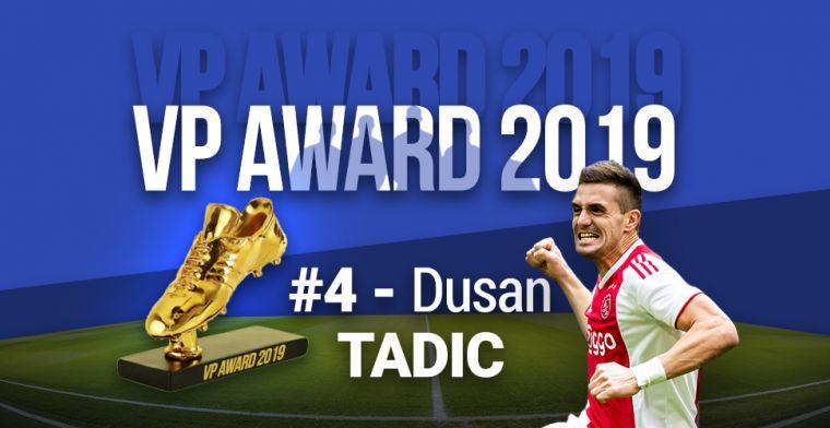 VP Award 2019: MVP van Ajax pakt na dubbel ook verdiende vierde plek