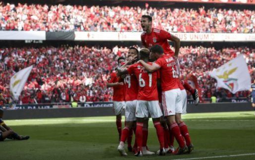 Afbeelding: Benfica houdt zenuwen in bedwang en wordt op slotdag kampioen van Portugal