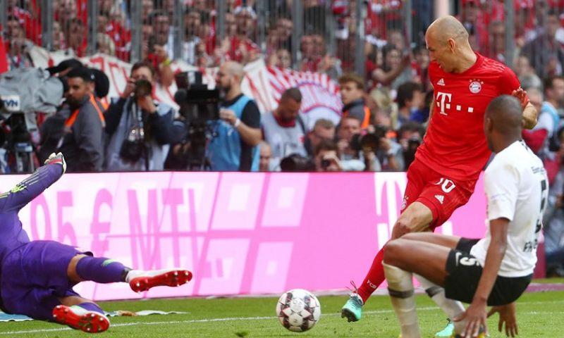 Afbeelding: Trefzekere Robben neemt afscheid met titel, Champions League voor Bosz