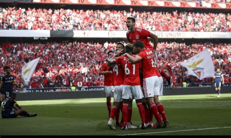 Afbeelding: Benfica haalt in eigen huis landstitel binnen en onttroont naaste belager FC Porto