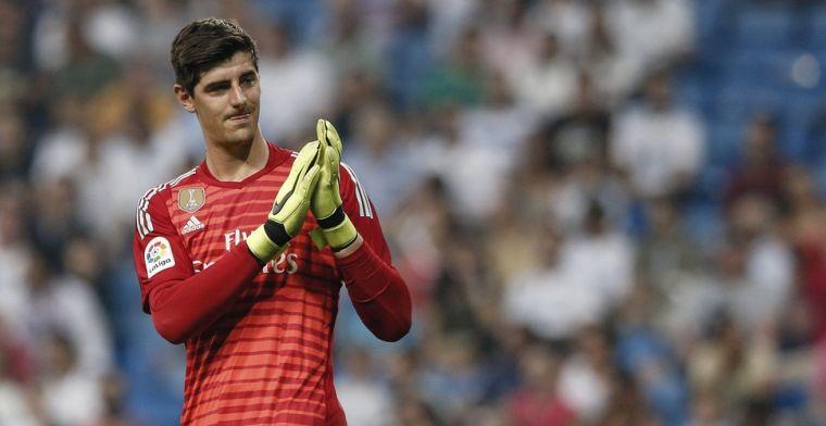 Courtois: 'Genk tegen Real Madrid in de Champions League, zou mooi zijn'