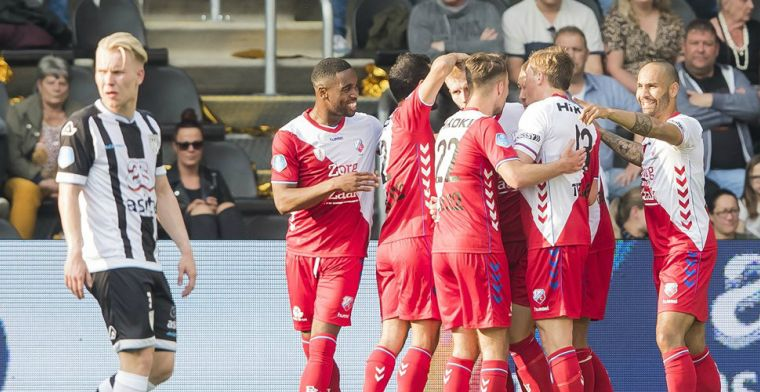 FC Utrecht boekt comfortabele zege en neemt voorschot op finale play-offs