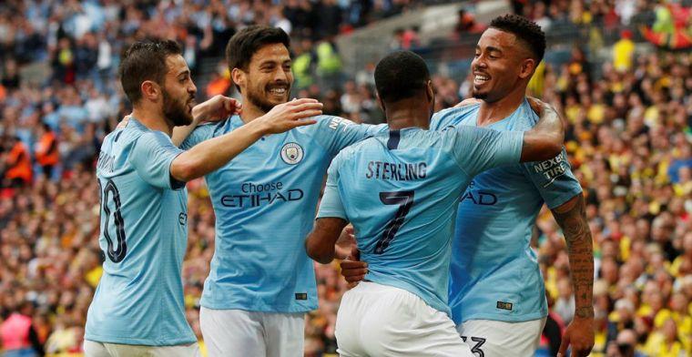 Manchester City geeft voetbalshow en maakt historische treble compleet
