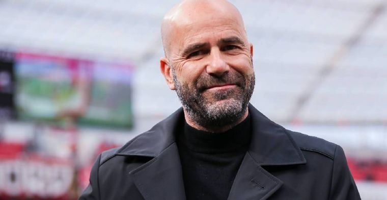 Bosz gevraagd naar interesse Leverkusen in Sinkgraven: 'Kom morgen terug'