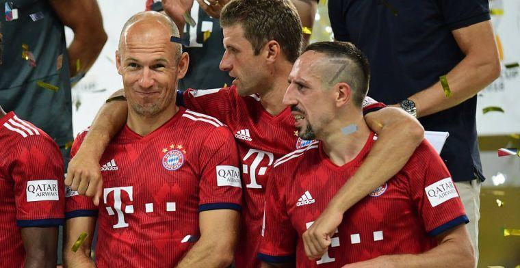 Robben: 'Zou het graag nog één keer laten zien, maar ik maak de opstelling niet'