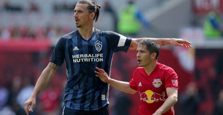 Boete en twee MLS-duels schorsing voor 'gewelddadige actie' van Ibrahimovic