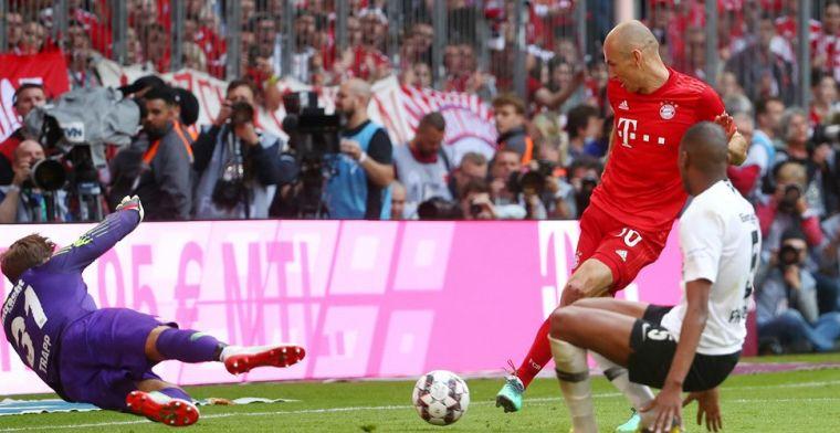 Trefzekere Robben neemt afscheid met titel, Champions League voor Bosz