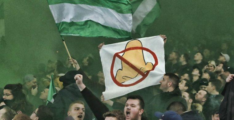 Feyenoord-supporters gaan los in Amsterdam, politie voorkomt clash met Ajax-fans