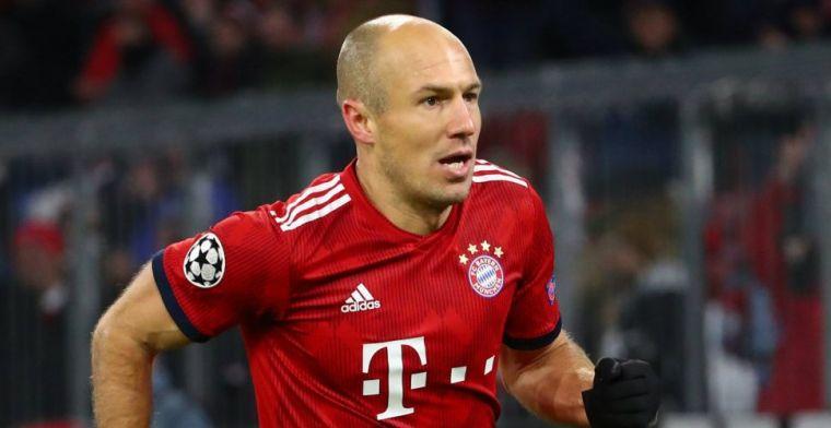 Tegenvaller voor Robben: geen laatste basisplaats in kampioenswedstrijd Bayern