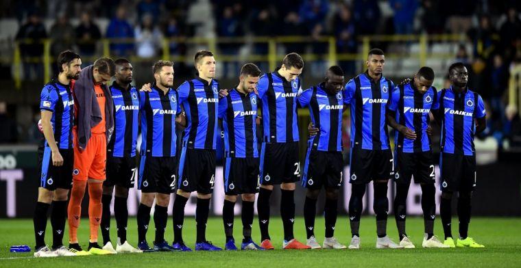 Spelers Club Brugge krijgen duidelijke boodschap te lezen op nieuw oefencomplex