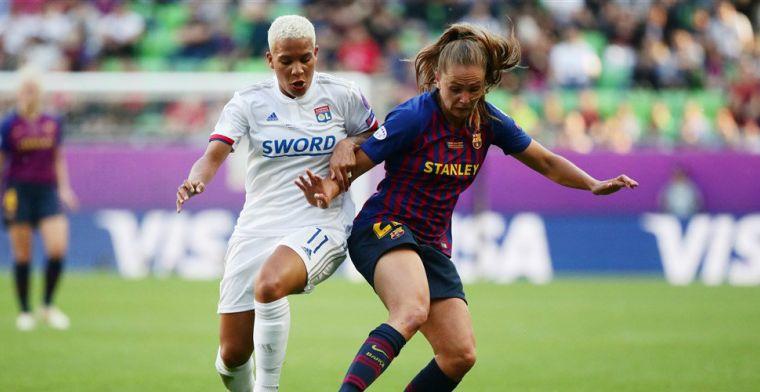 Martens in Champions League-finale geen partij voor Lyon en Van de Sanden