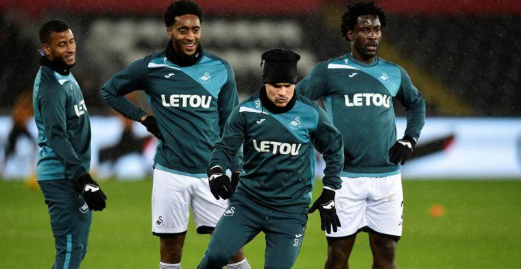 Swansea City dirigeert Fer, Narsingh en Bony naar uitgang, twee Nederlanders over